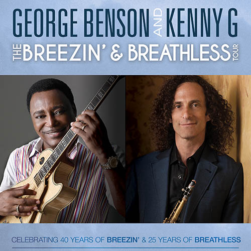 George Benson & Kenny G at Mountain Winery Amphitheater