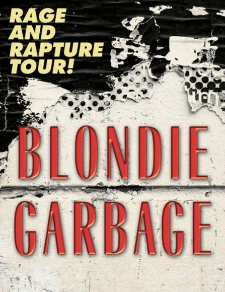 Blondie & Garbage  at Mountain Winery Amphitheater