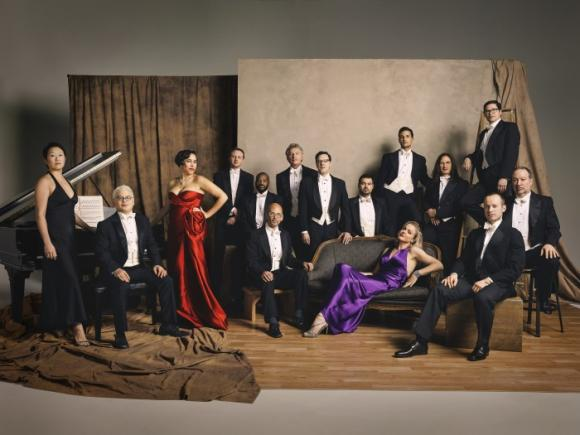 Pink Martini at Mountain Winery Amphitheater