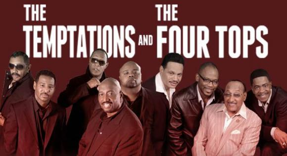 The Temptations & The Four Tops at Mountain Winery Amphitheater