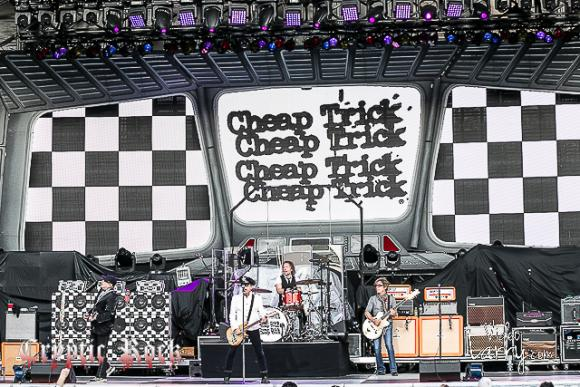 Cheap Trick at Mountain Winery Amphitheater