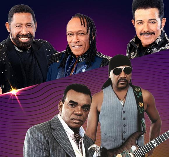 The Commodores & The Isley Brothers at Mountain Winery Amphitheater