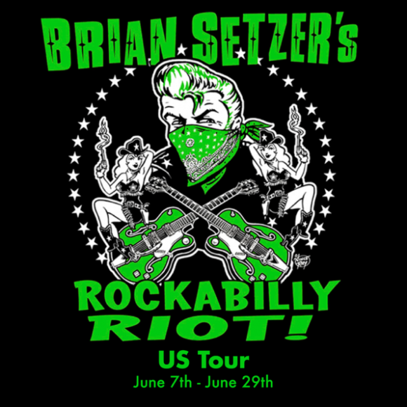 Brian Setzer's Rockabilly Riot! at Mountain Winery Amphitheater