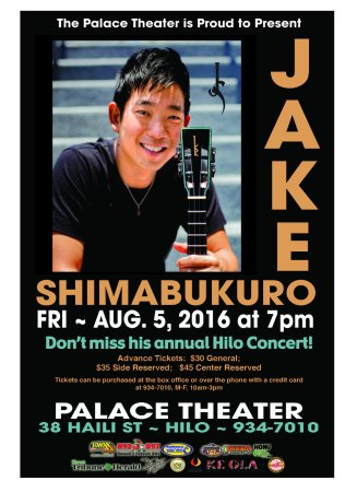 Jake Shimabukuro at Mountain Winery Amphitheater