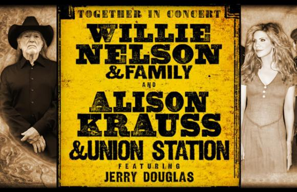 Willie Nelson & Alison Krauss at Mountain Winery Amphitheater
