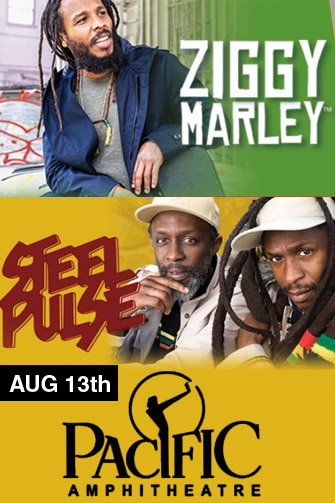 Ziggy Marley & Steel Pulse at Mountain Winery Amphitheater