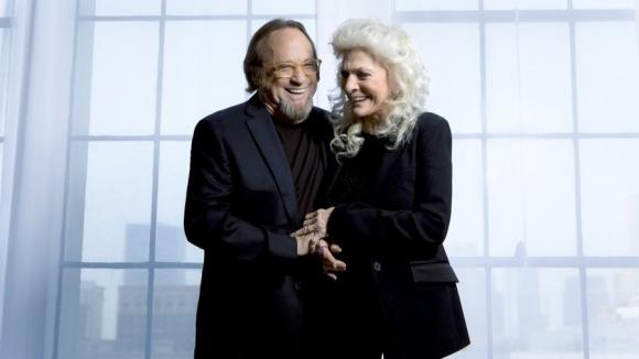 Stephen Stills & Judy Collins at Mountain Winery Amphitheater