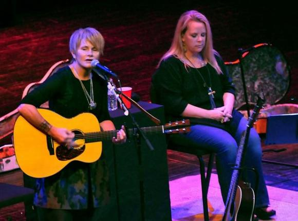 Mary Chapin Carpenter & Shawn Colvin at Mountain Winery Amphitheater