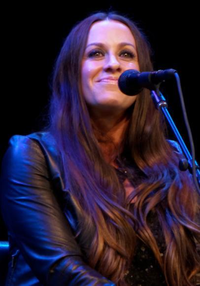 Alanis Morissette at Mountain Winery Amphitheater