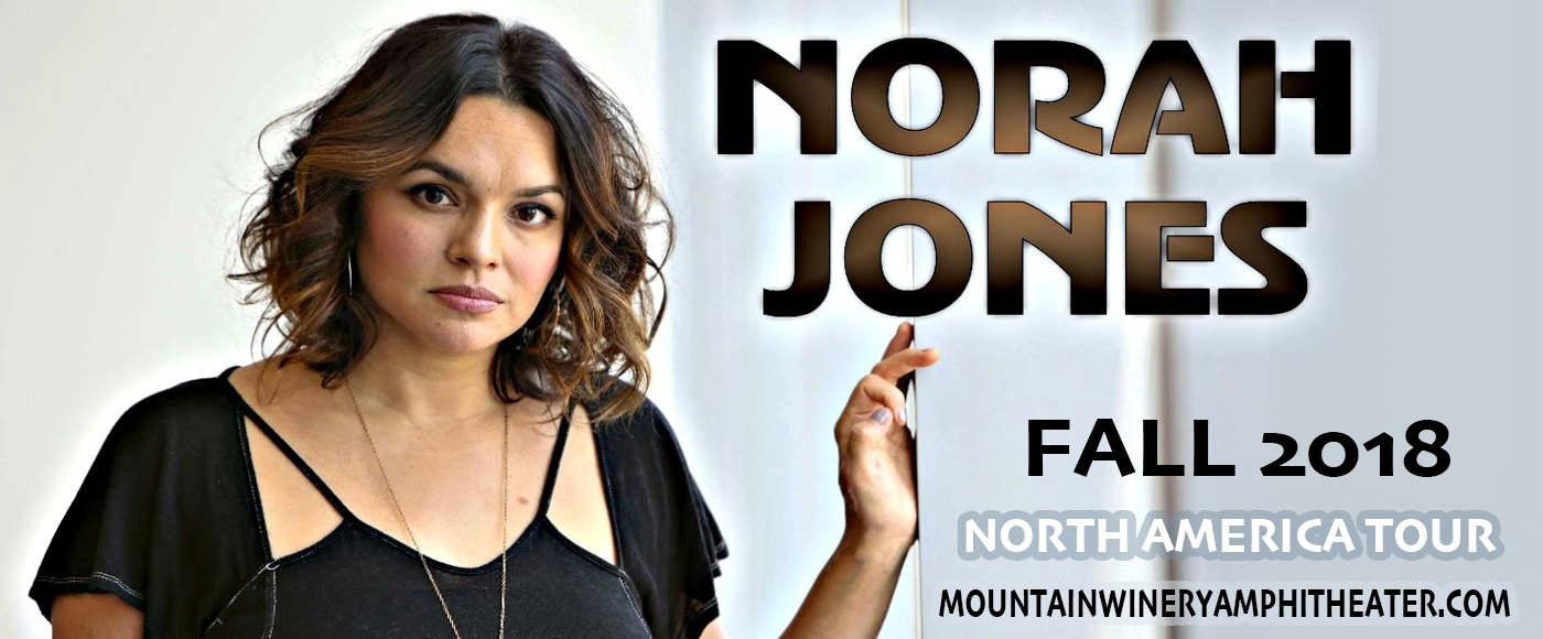 Norah Jones at Mountain Winery Amphitheater