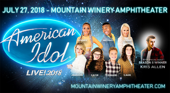American Idol Live at Mountain Winery Amphitheater