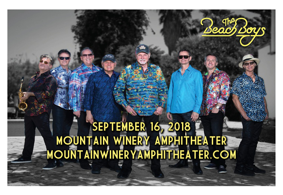 The Beach Boys at Mountain Winery Amphitheater