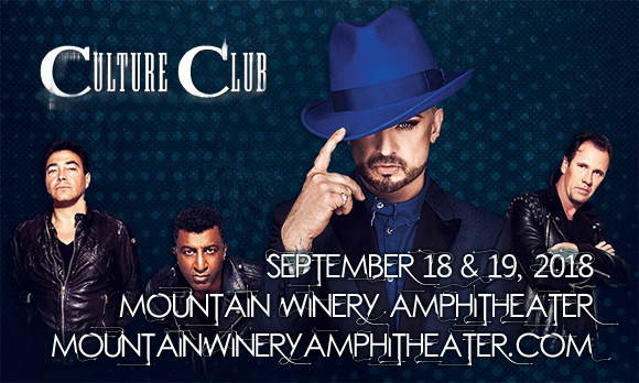 Boy George & Culture Club at Mountain Winery Amphitheater