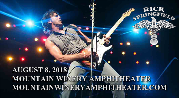Rick Springfield at Mountain Winery Amphitheater