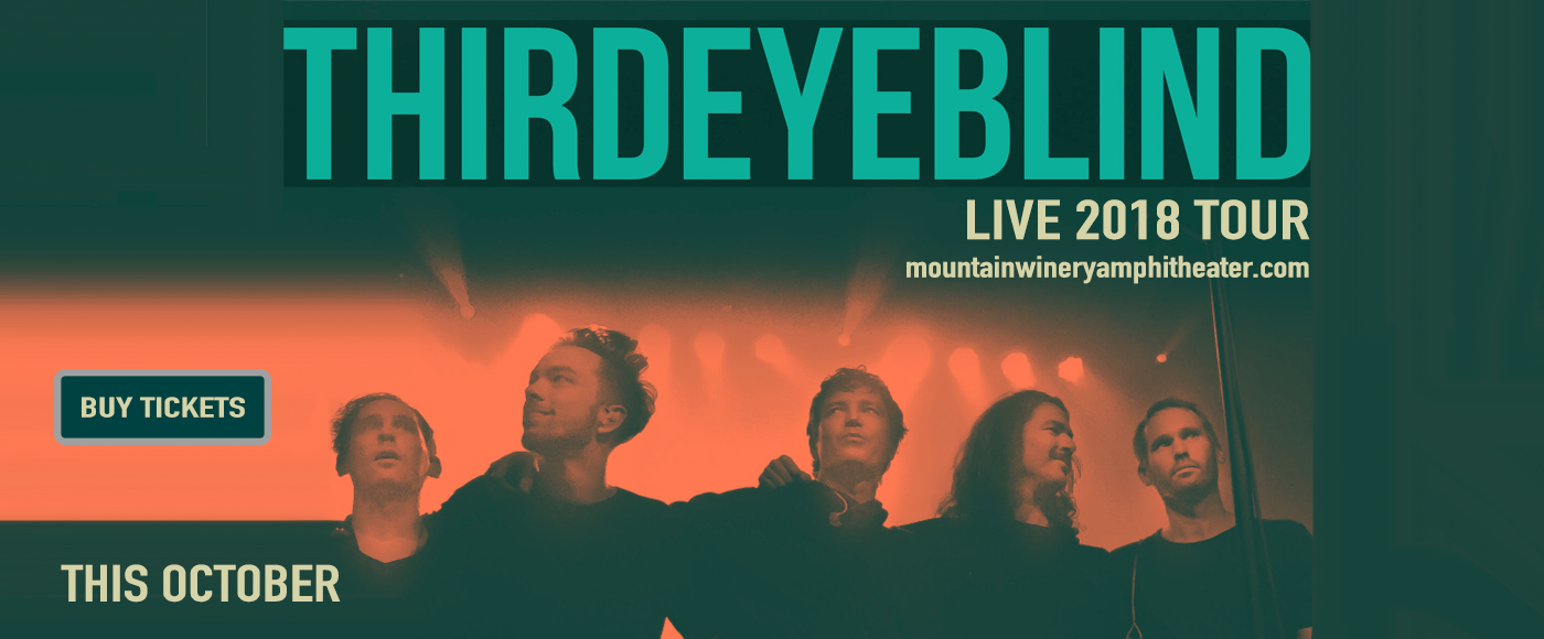 Third Eye Blind at Mountain Winery Amphitheater