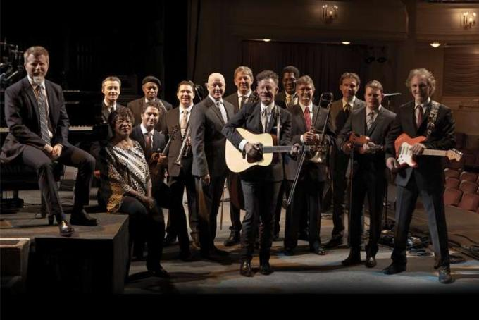 Lyle Lovett and His Large Band at Mountain Winery Amphitheater