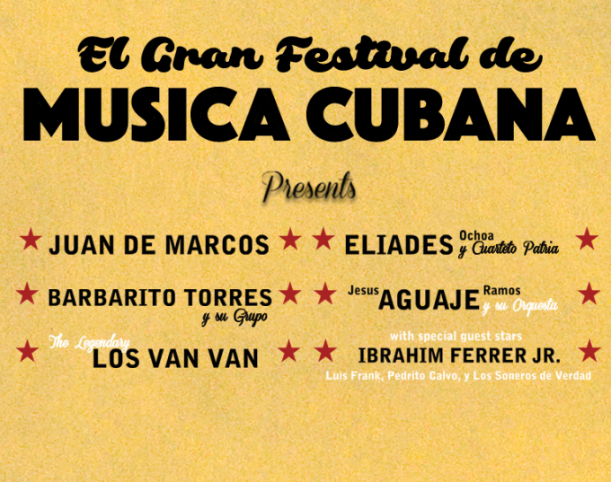 El Gran Festival de Musica Cubana at Mountain Winery Amphitheater
