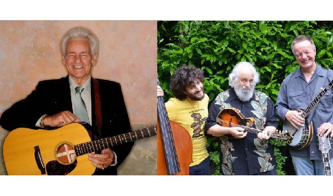 The Del McCoury Band & David Grisman Trio at Mountain Winery Amphitheater