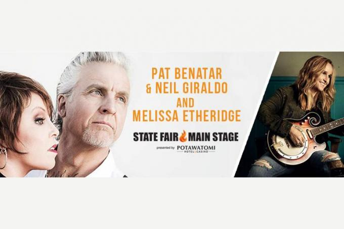 Pat Benatar, Neil Giraldo & Melissa Etheridge at Mountain Winery Amphitheater