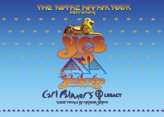 The Royal Affair: Yes, Asia, John Lodge & Carl Palmer's ELP Legacy at Mountain Winery Amphitheater