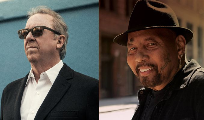 Boz Scaggs & Aaron Neville at Mountain Winery Amphitheater