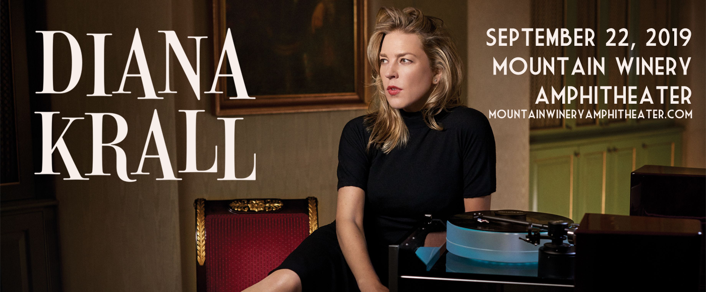 Diana Krall at Mountain Winery Amphitheater