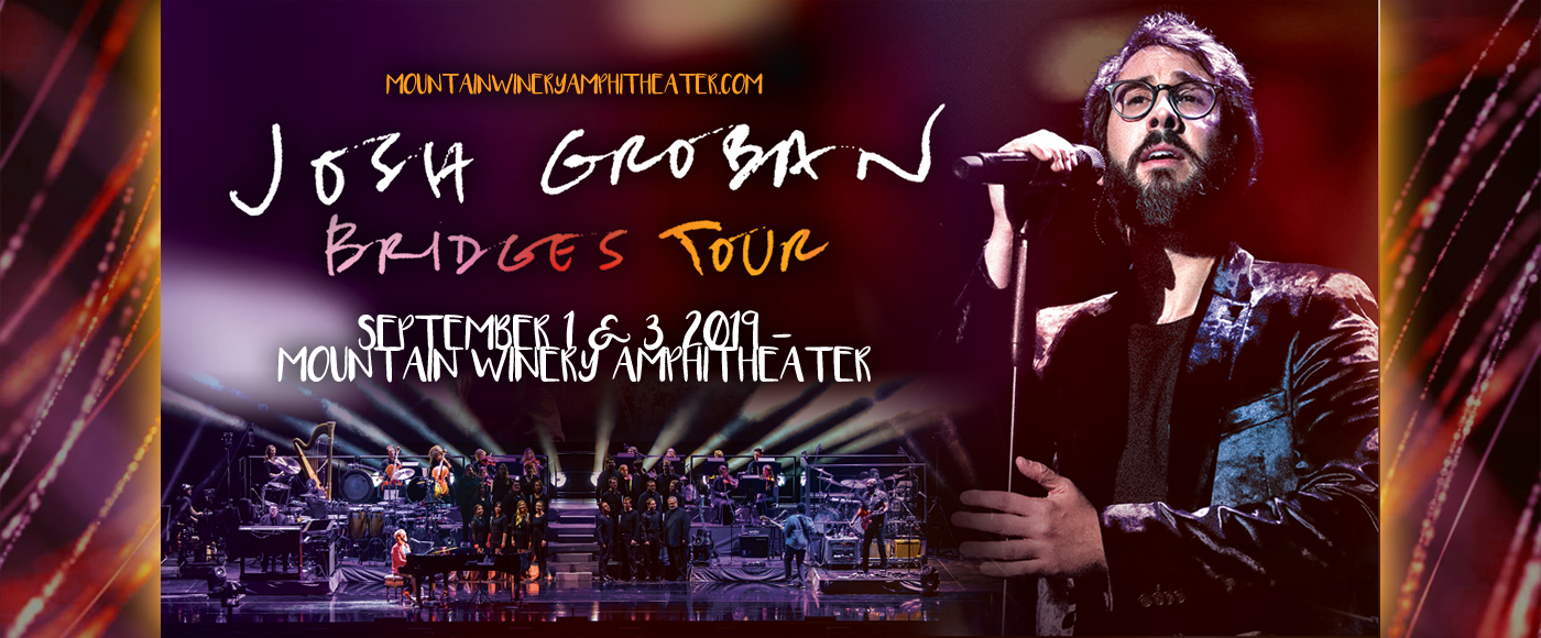 Josh Groban at Mountain Winery Amphitheater