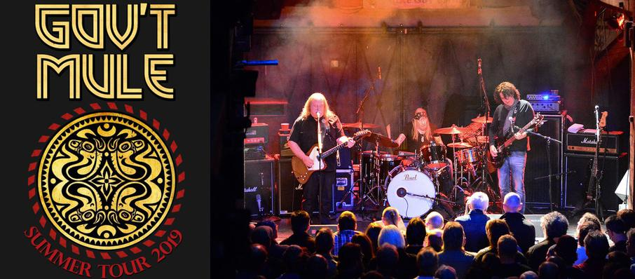 Gov't Mule at Mountain Winery Amphitheater