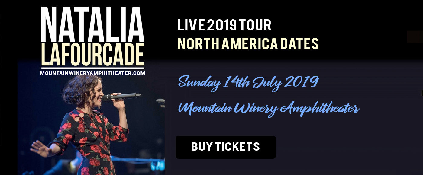 Natalia LaFourcade at Mountain Winery Amphitheater