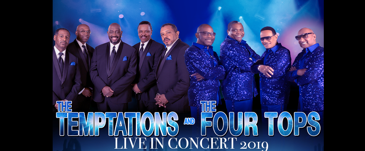 The Temptations & The Four Tops Tickets | 8th August