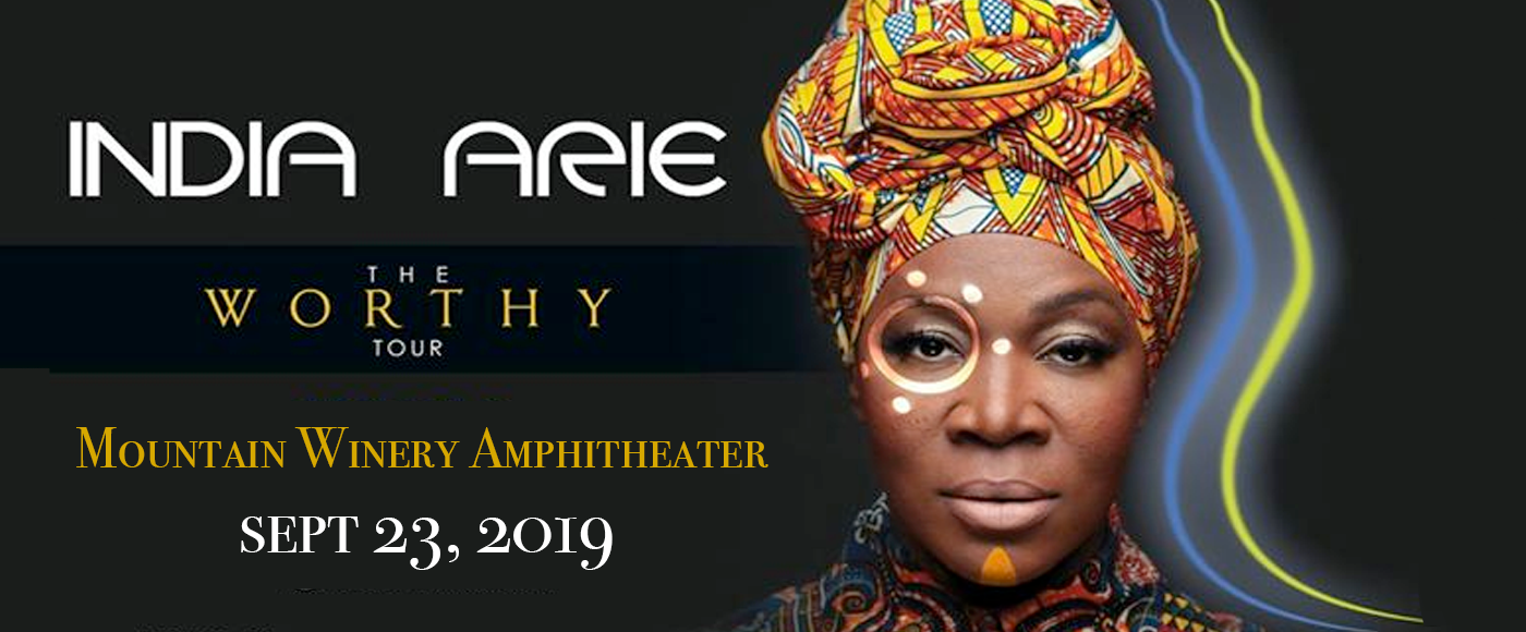 India.Arie at Mountain Winery Amphitheater