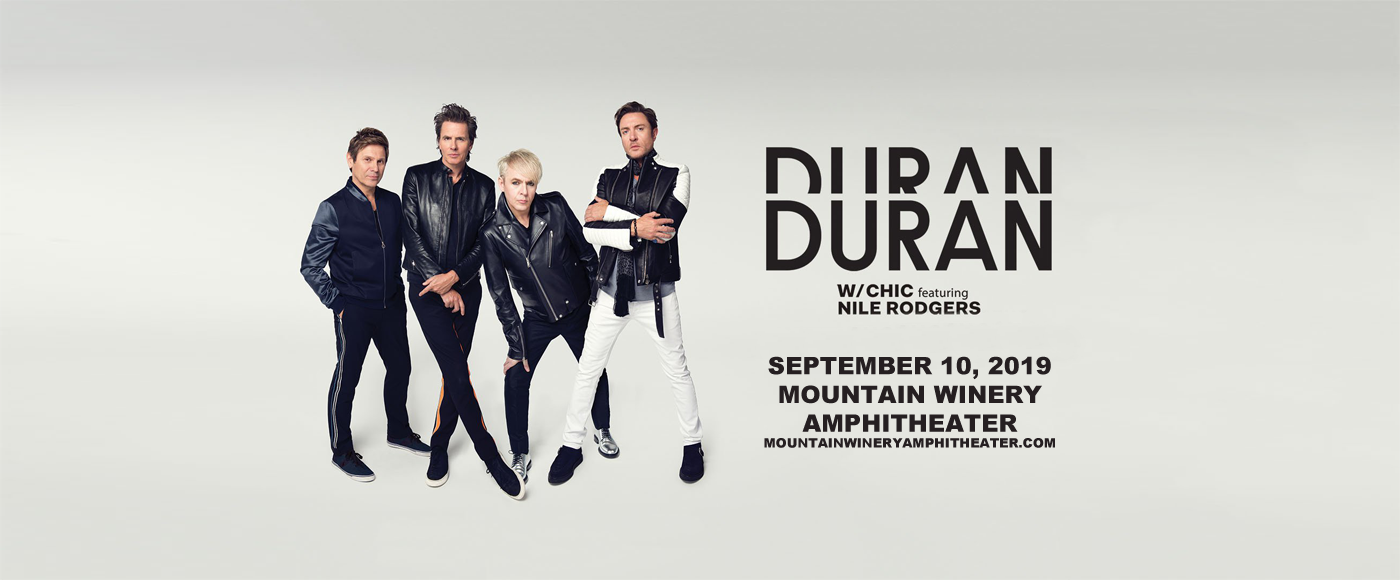 Duran Duran at Mountain Winery Amphitheater
