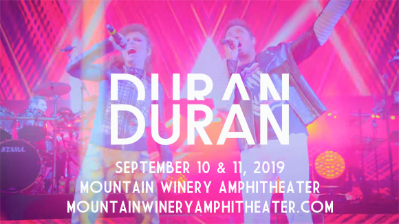 Duran Duran at Mountain Winery Amphitheater