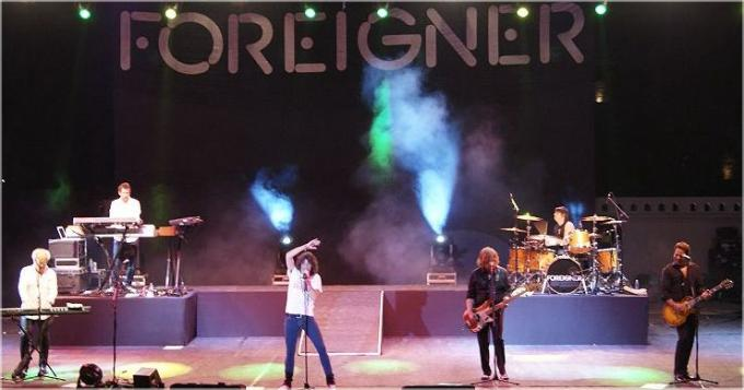 Foreigner at Mountain Winery Amphitheater