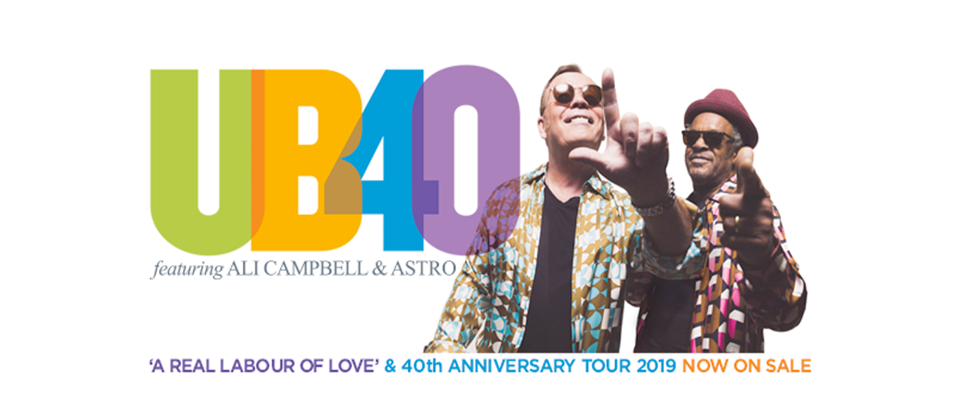 UB40's Ali and Astro at Mountain Winery Amphitheater