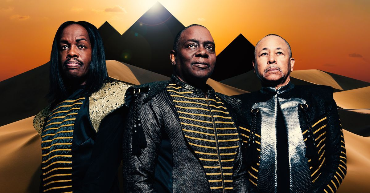 Earth, Wind and Fire at Mountain Winery Amphitheater