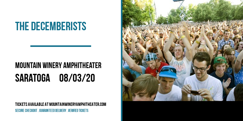 The Decemberists [POSTPONED] at Mountain Winery Amphitheater