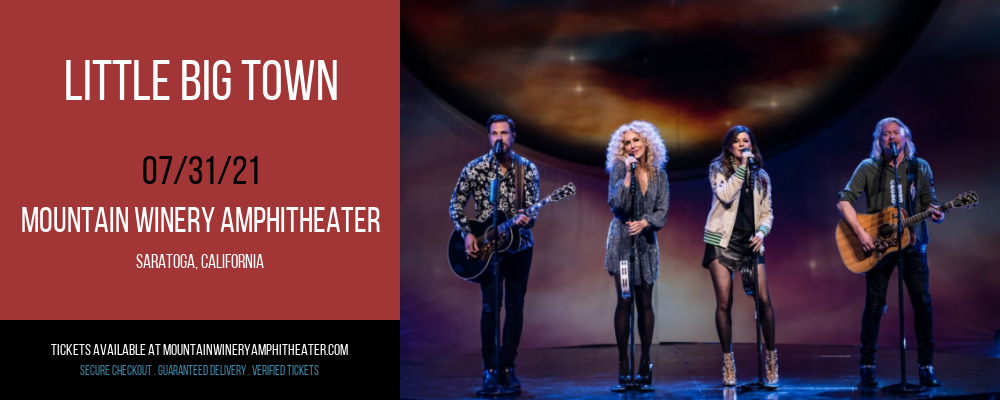 Little Big Town at Mountain Winery Amphitheater