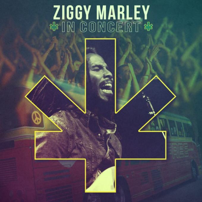 Ziggy Marley at Mountain Winery Amphitheater