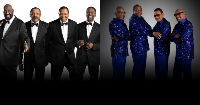 The Temptations & Four Tops at Mountain Winery Amphitheater