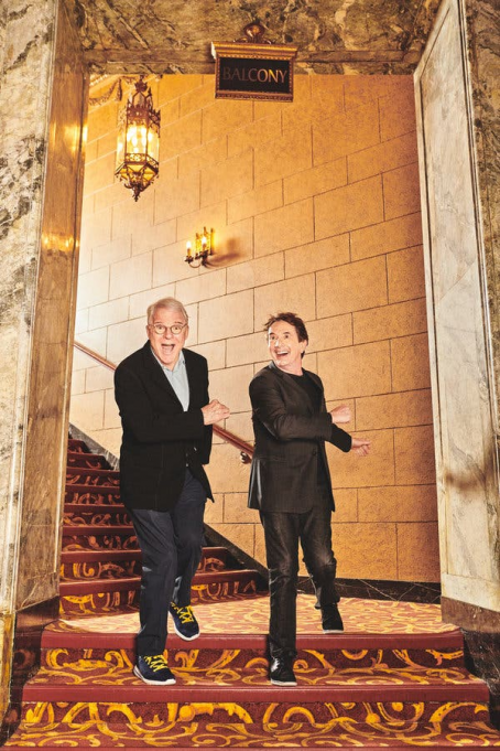 Steve Martin & Martin Short at Mountain Winery Amphitheater