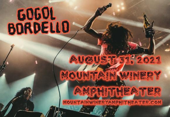 Gogol Bordello at Mountain Winery Amphitheater